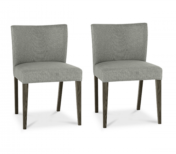 Tao Grey Low Back Chair Pair