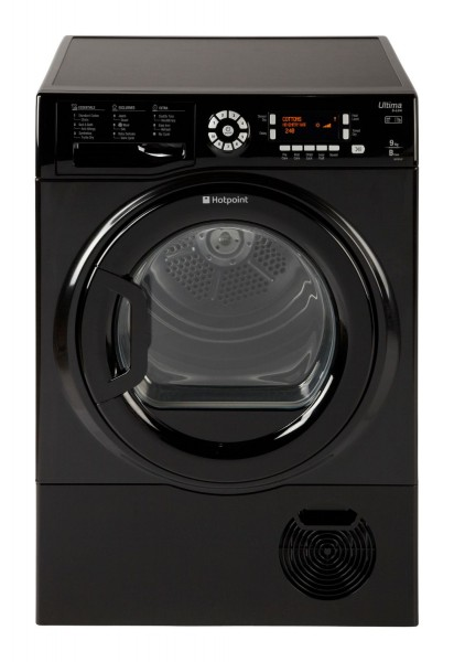 Hotpoint Ultima 9kg Black Condenser Tumble Dryer