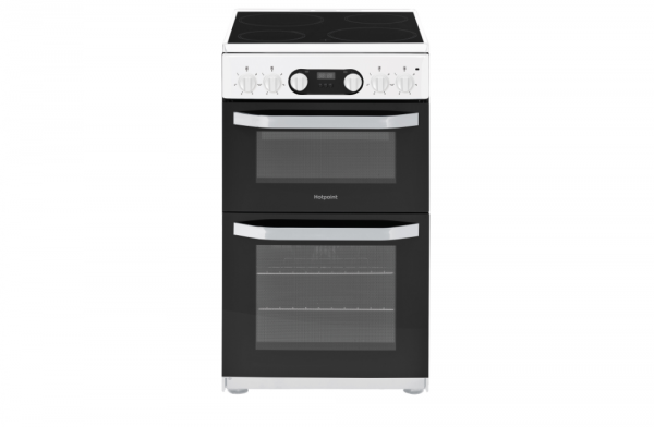 Hotpoint 50cm Electric Cooker HD5V93CCW