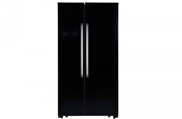 Montpellier 90cm Black American Fridge Freezer
