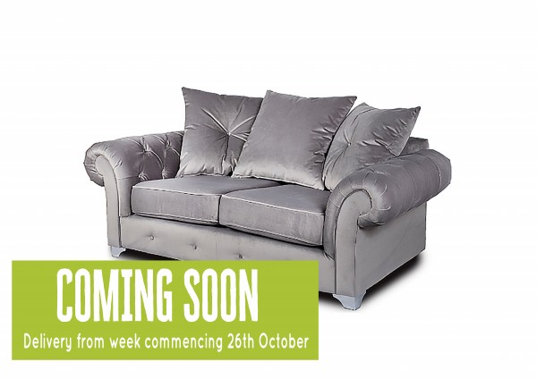 Violet Grey 2 Seater Sofa