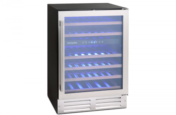 Montpellier 46 Bottle Dual Zone Wine Cooler