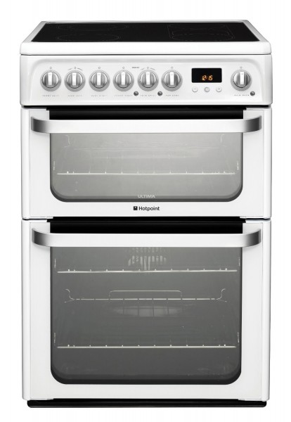 Hotpoint HUE61PS 60cm Electric Cooker