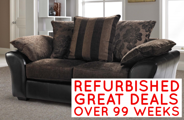 Refurbished Perez 3 Seater Sofa