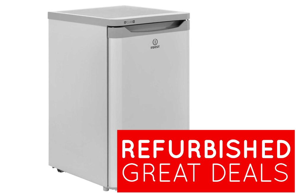 refurbished indesit 55cm under counter fridge
