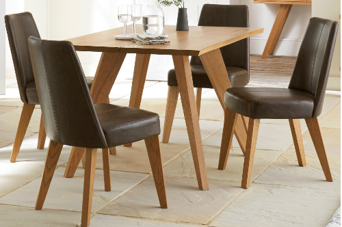 Aspen 4 Chair Dining Set