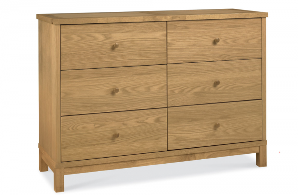 Ashton 6 Drawer Wide Chest