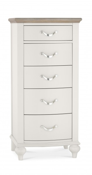 Giselle 5 Drawer Tall Chest