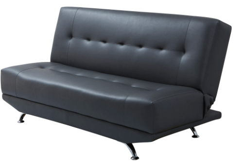Ashley Dark Grey 'Click Clack' Sofa Bed