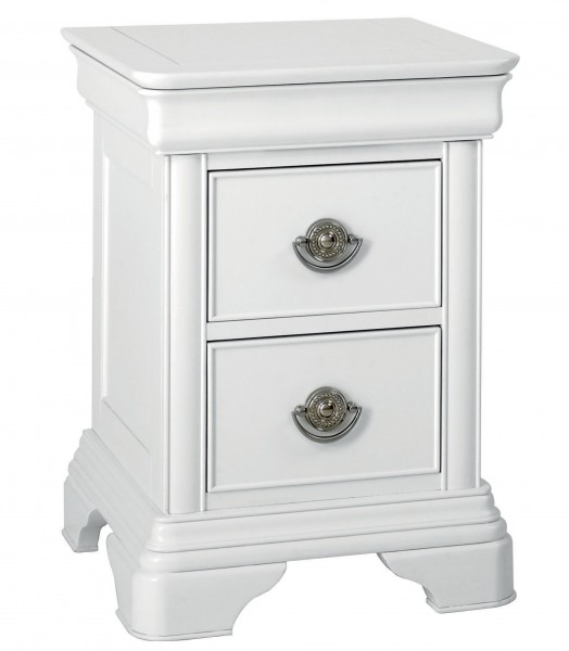 Cara 2 Drawer Bedside Table
