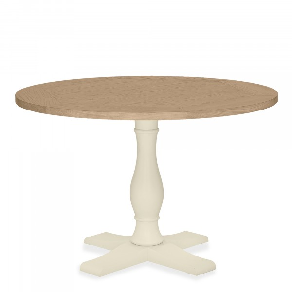 Chloe Oak Circular Table