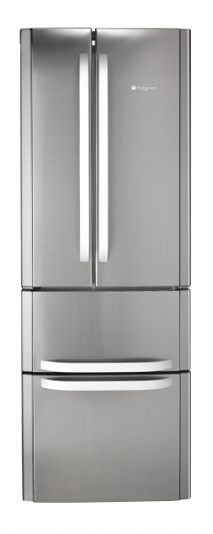 Hotpoint Quadrio 70cm Silver Fridge Freezer
