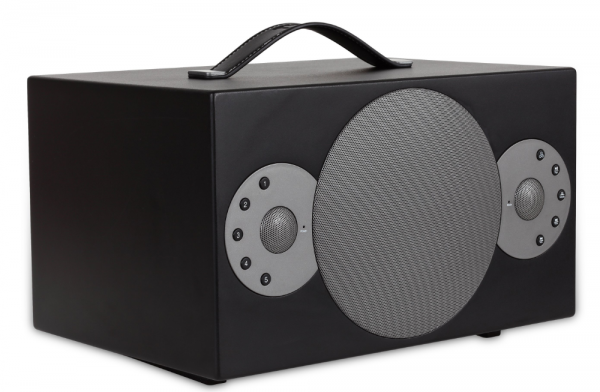Tibo Black Sphere 6 Portable Wi-Fi & Bluetooth Speaker