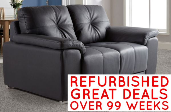 Refurbished Monza 2 Seater Sofa