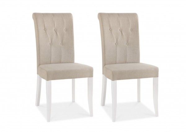 Melody Upholstered Chair Pair