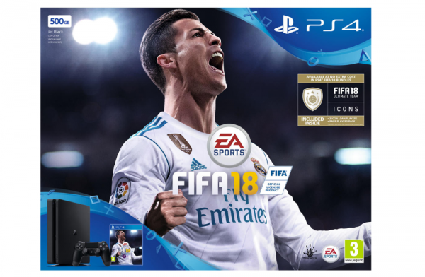 PS4 Slim 500GB Fifa 18 Bundle