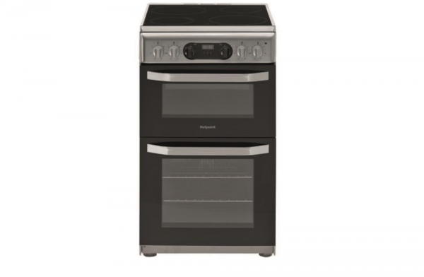 Hotpoint 50cm Stainless Steel Electric Cooker