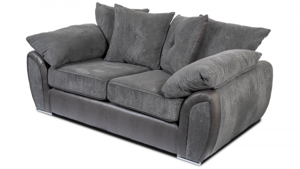 Lexi Grey 2 Seater Sofa
