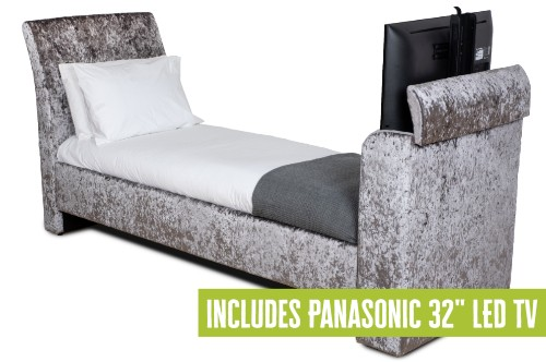 Charlotte Single TV Bed Package