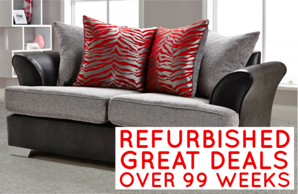 Refurbished Quartz 2 Seater Sofa