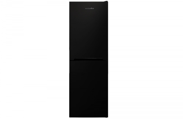 Montpellier 54cm Black Fridge Freezer MFF166K