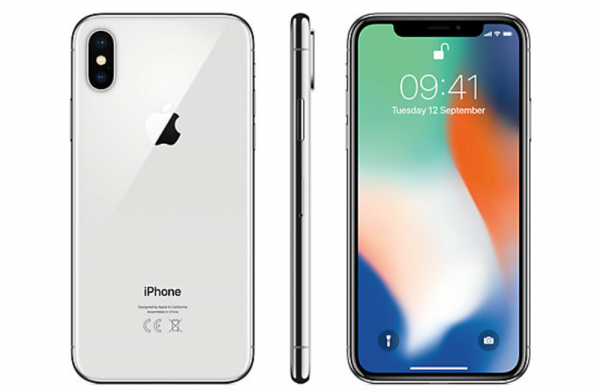 Apple iPhone X 64GB Silver Apple Refurb