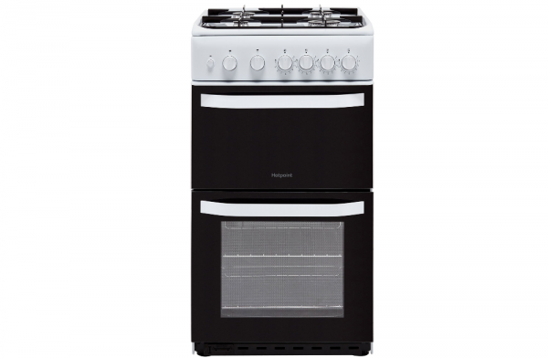 Hotpoint 50cm White Gas Cooker