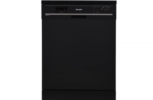 Sharp 4 Programme Black Dishwasher