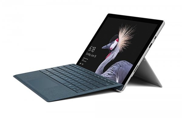 "Microsoft Refurbished Surface Pro 12.3"" 8GB Black & Silver"