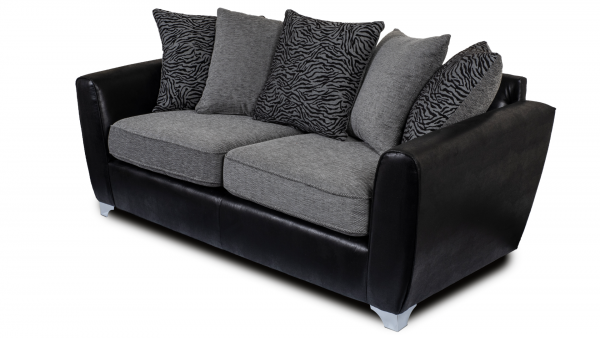 Scarlett Grey 3 Seater Sofa