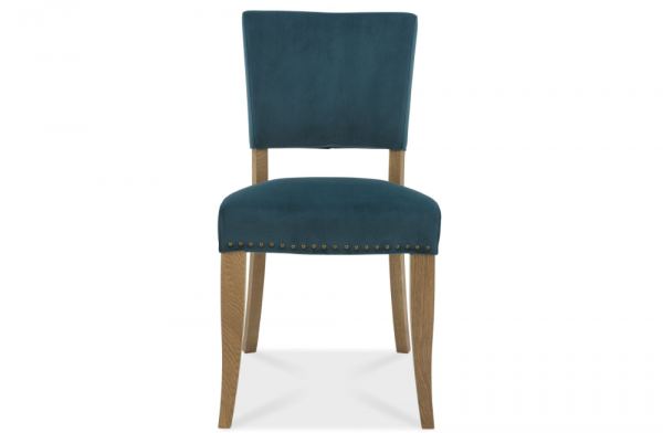 Ivy Upholstered Sea Green Chair Pair