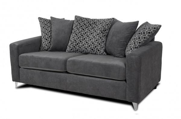 Alexis Grey 3 Seater Sofa
