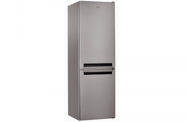 Whirlpool 60cm Optic Inox Fridge Freezer