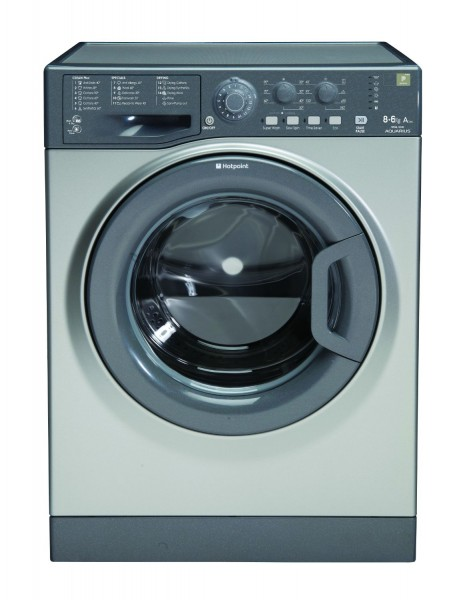 Hotpoint 8+6kg Graphite Washer Dryer