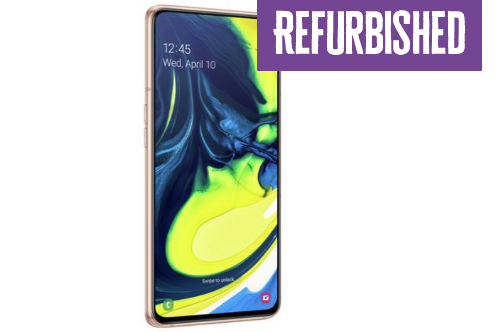 Refurbished Samsung Galaxy A80 128GB Gold