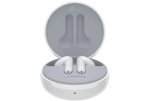 LG FN6 White Wireless Earbuds