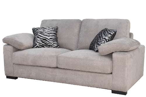 Ella Grey 3 Seater Sofa