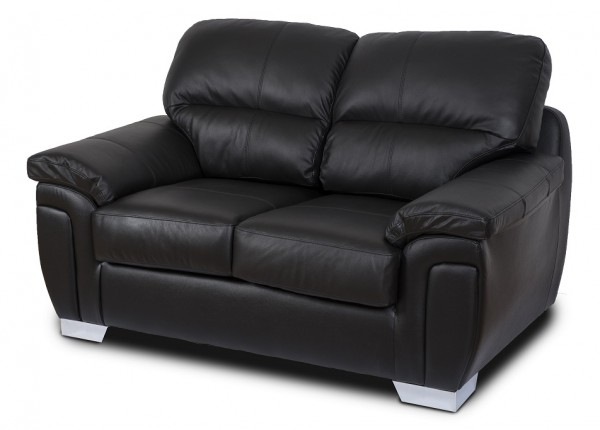 Harley Black 2 Seater Sofa