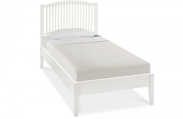 Willow Single White Bed