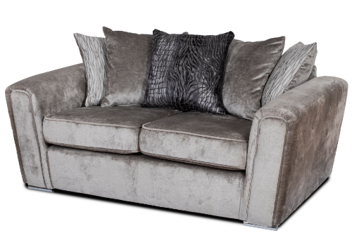 Layla Grey 2 Seater Sofa