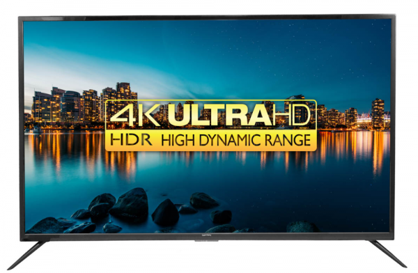 "Qantec 43"" 4K UHD HDR Smart TV"